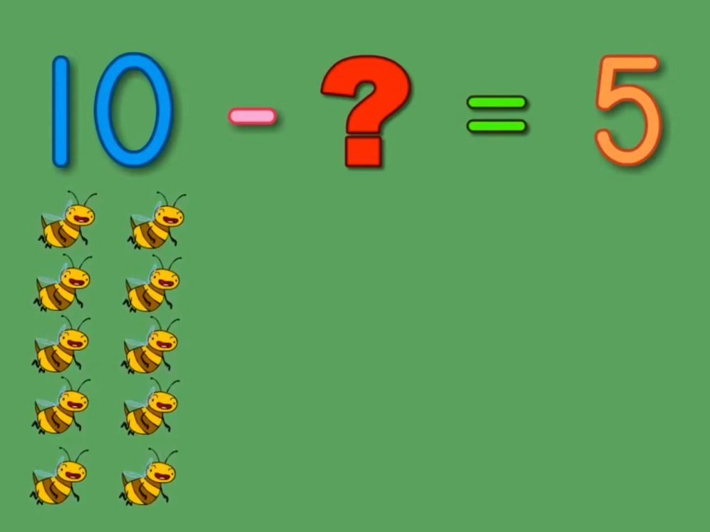 hight resolution of Buzzing Bees Subtraction Song   Song   Education.com