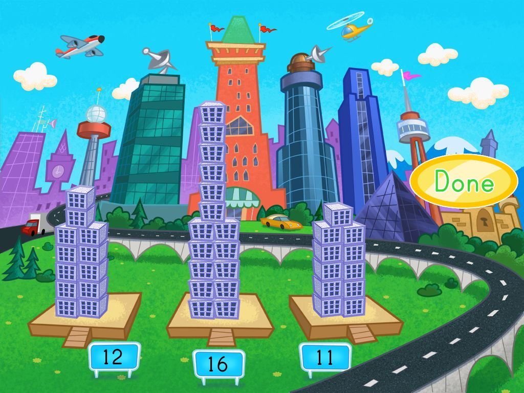 hight resolution of Building Numbers in the City Game   Game   Education.com