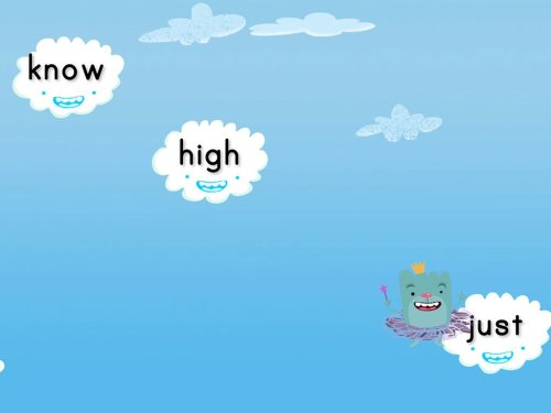 small resolution of Cloud Catcher 1st Grade Sight Words   Game   Education.com