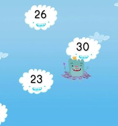 Cloud Catcher Numbers 20-30   Game   Education.com [ 768 x 1024 Pixel ]