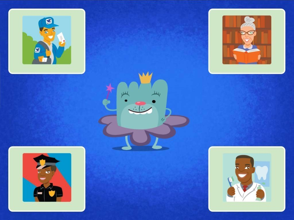 Community Helpers Quiz Game