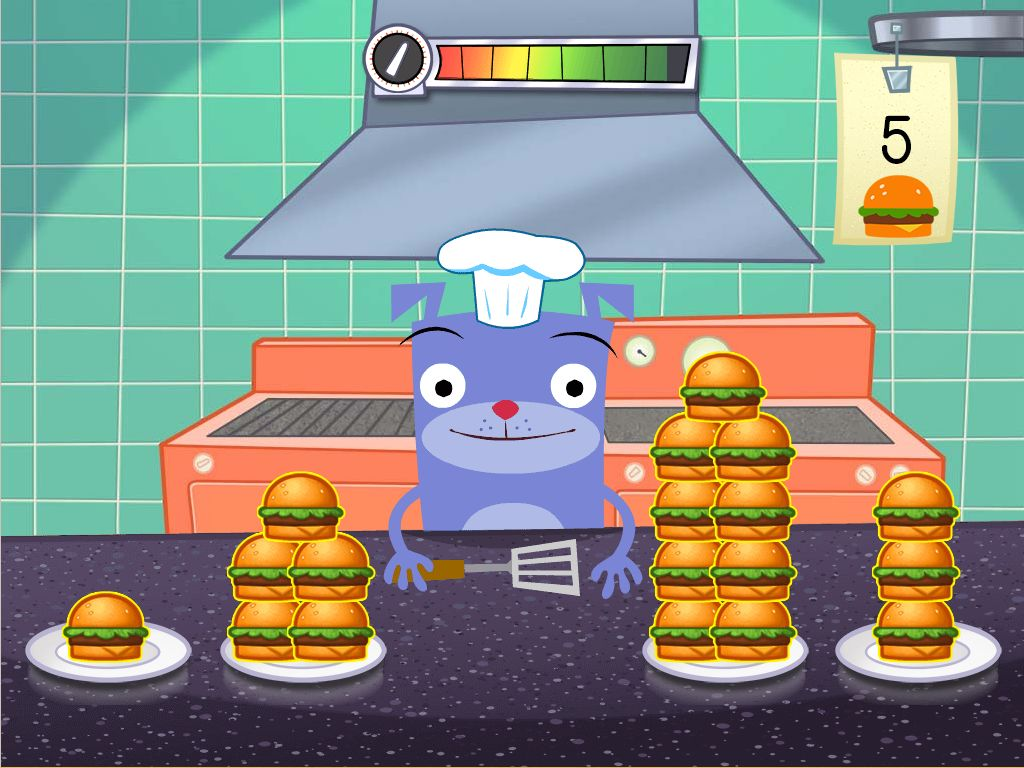 hight resolution of Counting in the Kitchen Game   Game   Education.com