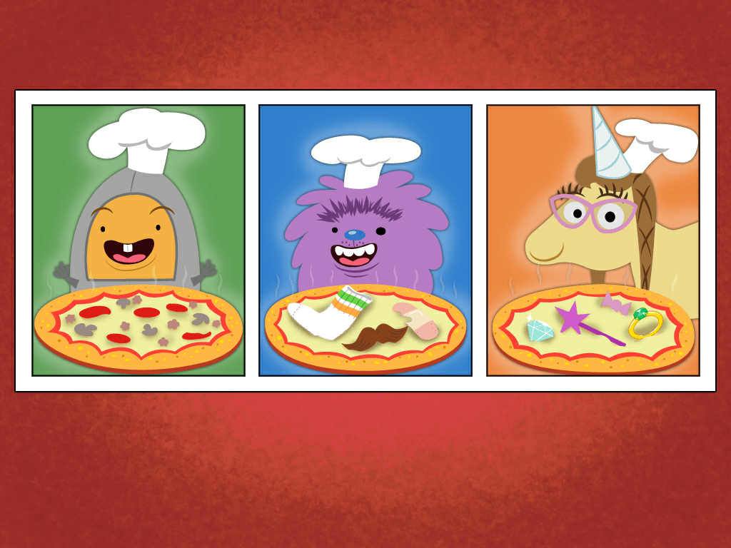 Addition 1 10 Pizza Party Game
