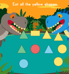 Dino Crunch: Colors   Game   Education.com [ 768 x 1024 Pixel ]