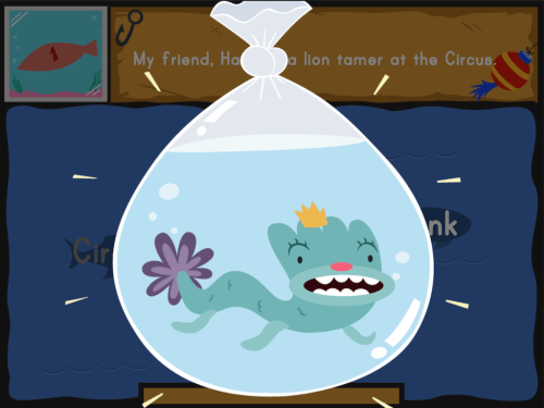small resolution of Dino Fishing: Capitalization   Game   Education.com