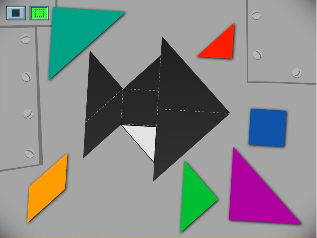 hight resolution of Fish Tangram Game   Game   Education.com
