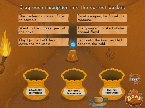 small resolution of Sentences vs. Fragment: Floyd Danger Adventure   Game   Education.com