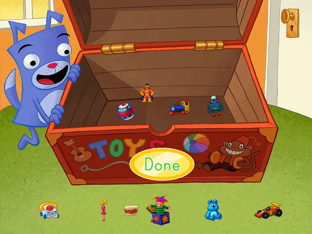 How Many Toys In The Chest Game