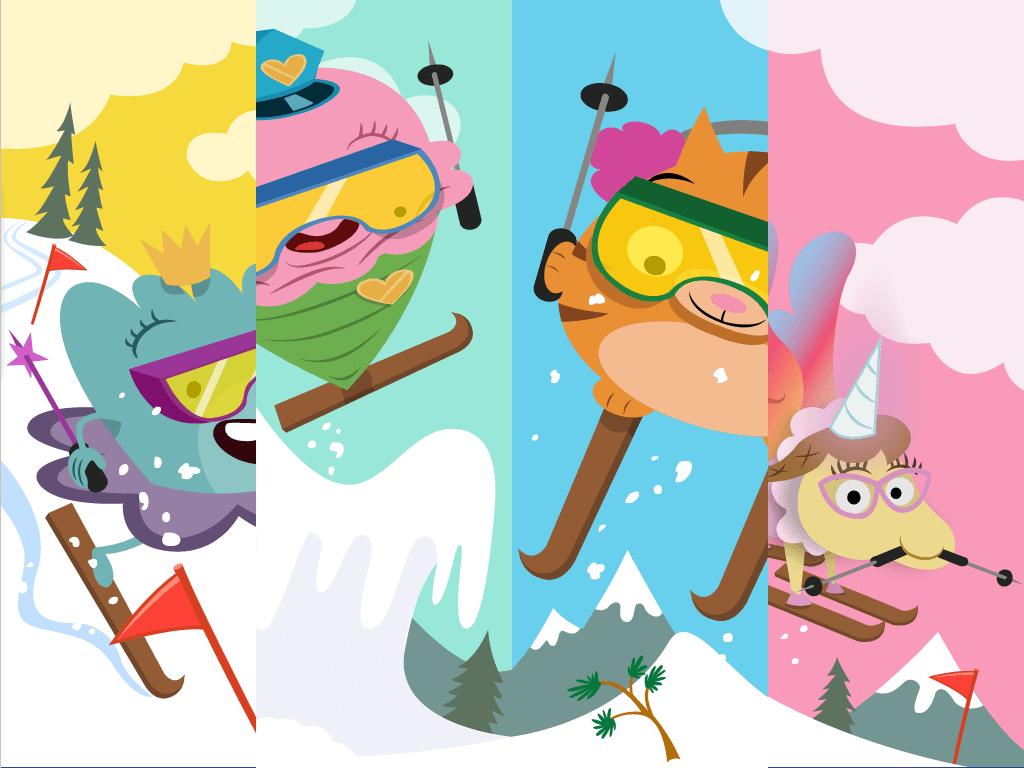 hight resolution of Irregular Plural Nouns Ski Race   Game   Education.com