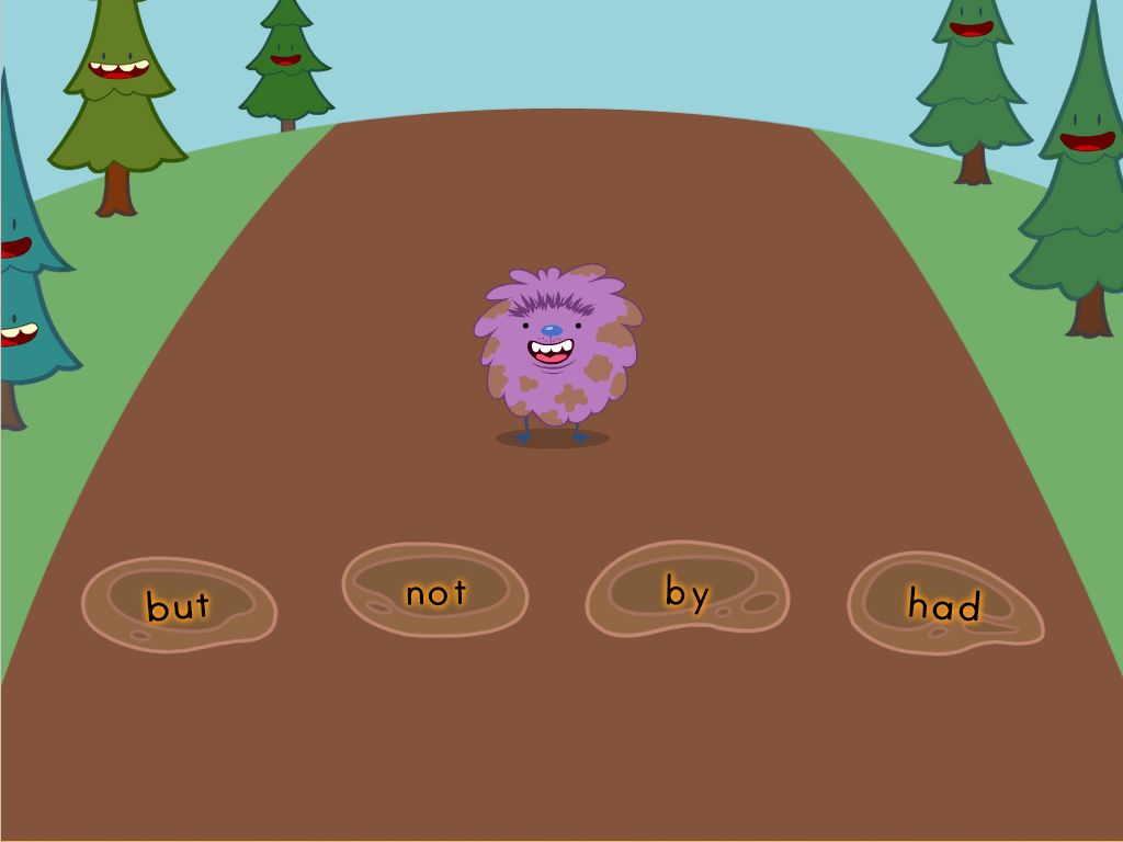 Jump In The Sight Word Mud Game