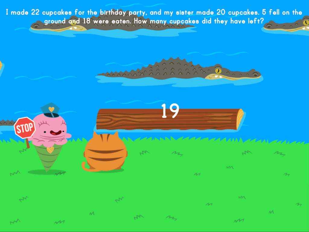 hight resolution of Jumpy: Multi-Step Word Problems   Game   Education.com