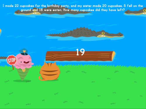 small resolution of Jumpy: Multi-Step Word Problems   Game   Education.com
