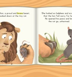 The Lion and the Rat - ebook   Story   Education.com [ 768 x 1024 Pixel ]
