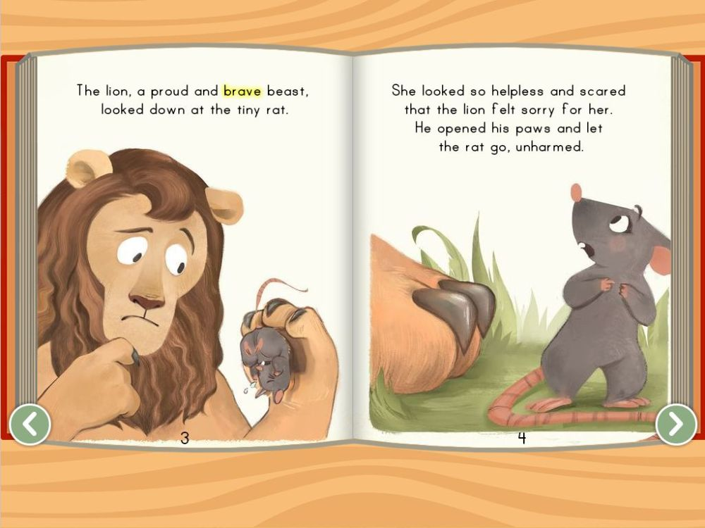 medium resolution of The Lion and the Rat - ebook   Story   Education.com
