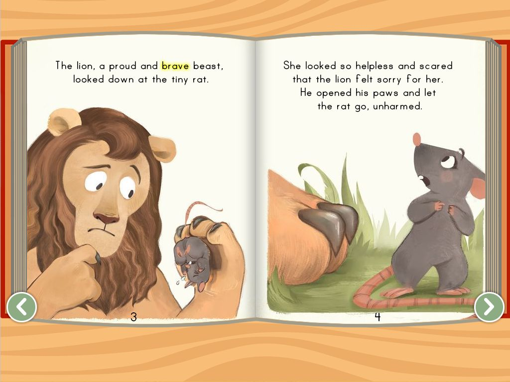 hight resolution of The Lion and the Rat - ebook   Story   Education.com