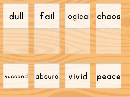 small resolution of Match: Find the Antonyms   Game   Education.com