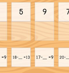 Match: Subtraction Within 20 and Missing Factors   Game   Education.com [ 768 x 1024 Pixel ]