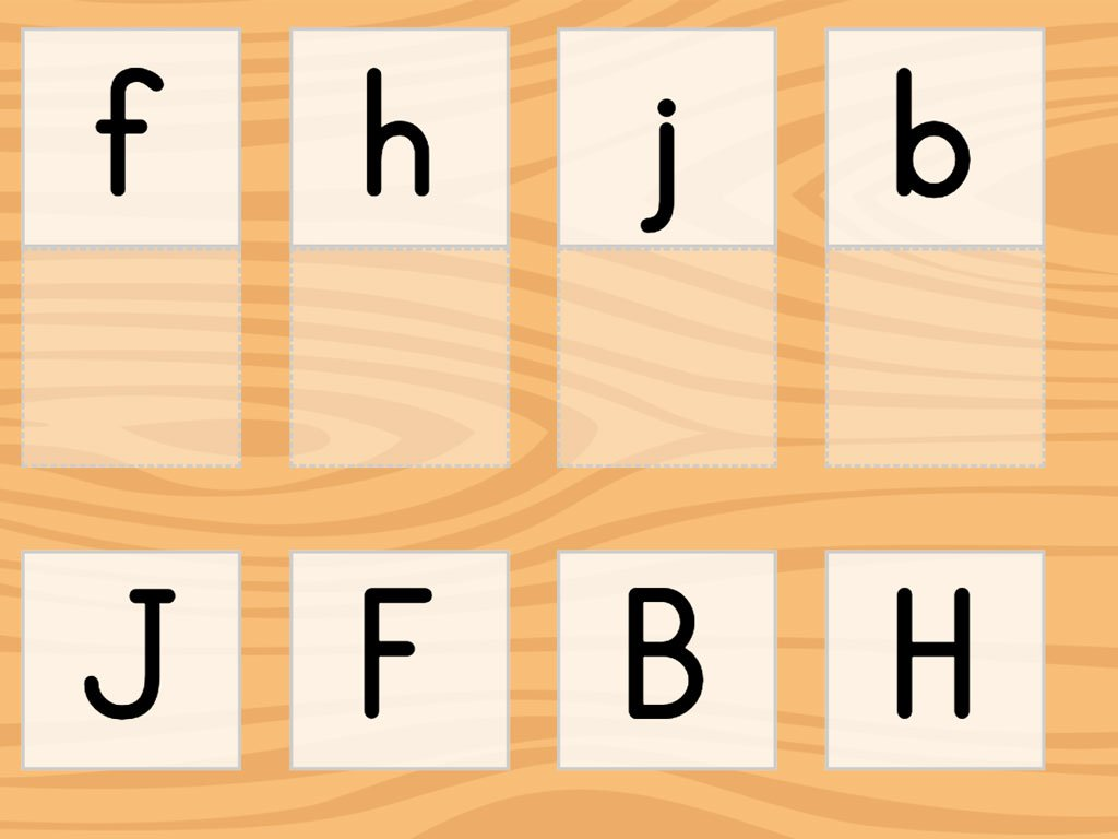 hight resolution of Match the Letters A-L   Game   Education.com