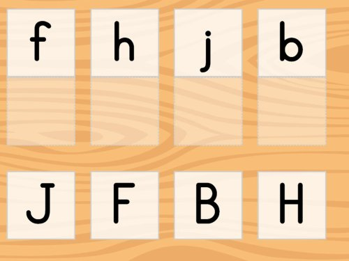 small resolution of Match the Letters A-L   Game   Education.com