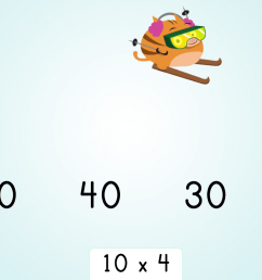 Multiply by 10: Ski Racer   Game   Education.com [ 851 x 1136 Pixel ]