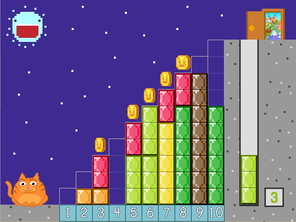Number Pair Staircase Game