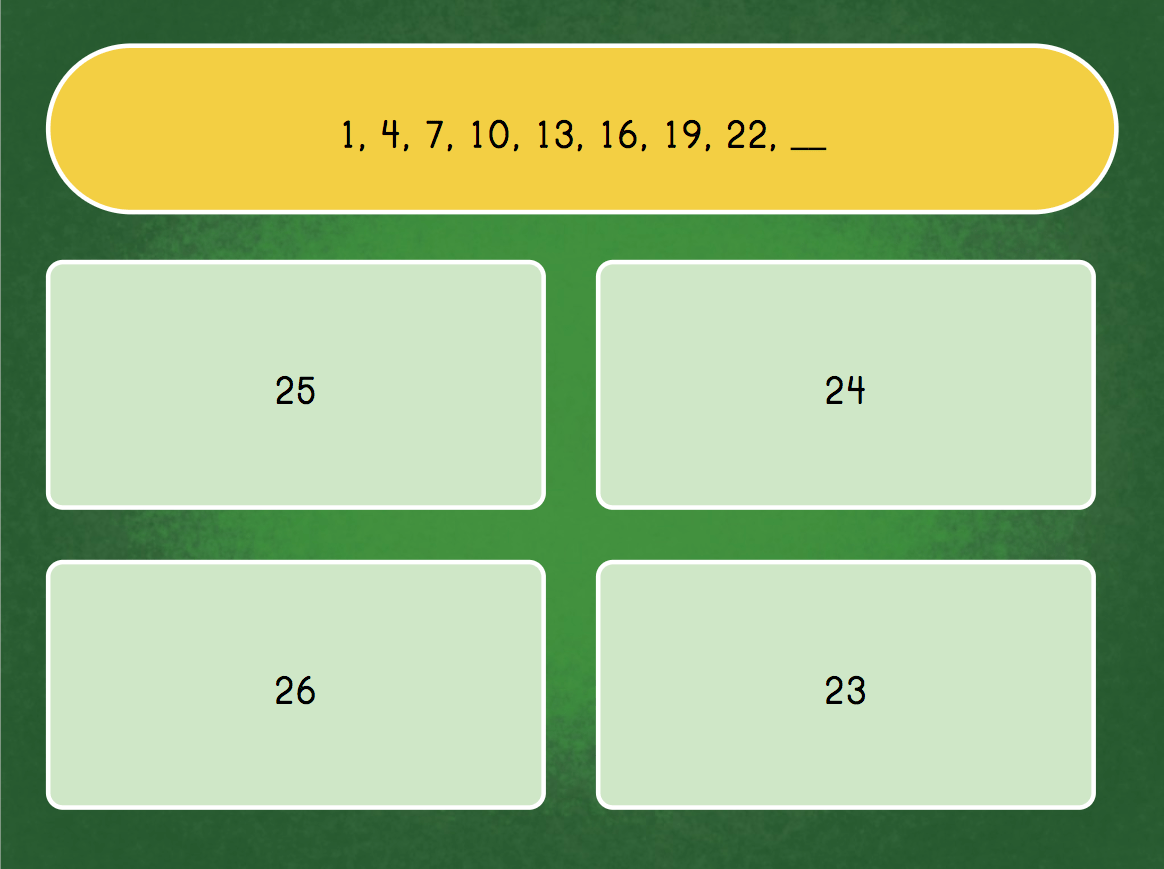 hight resolution of Solve the Number Pattern   Game   Education.com