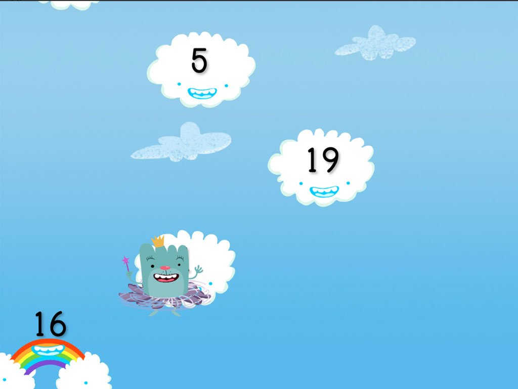 hight resolution of Odd and Even Numbers Cloud Catcher   Game   Education.com