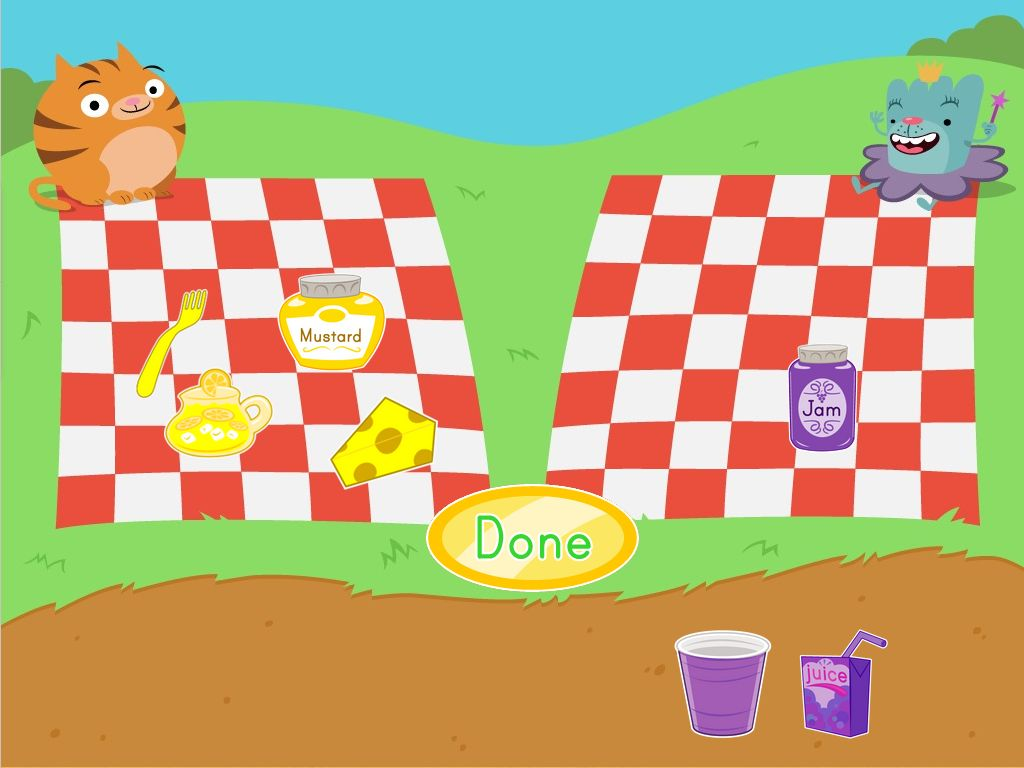 Picnic Color Sorting Game