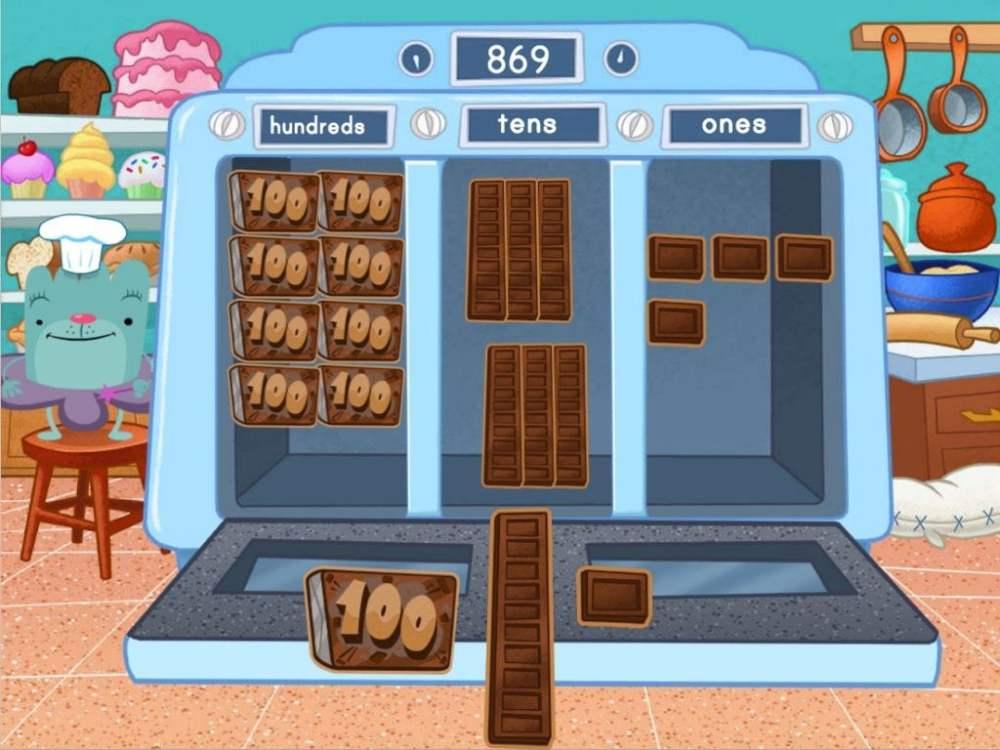 medium resolution of 3-Digit Place Value Machine Game   Game   Education.com