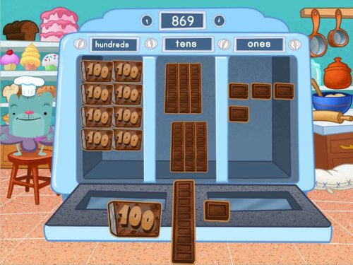small resolution of 3-Digit Place Value Machine Game   Game   Education.com
