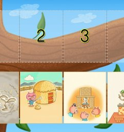 Sequencing The Three Little Pigs Game   Game   Education.com [ 768 x 1024 Pixel ]