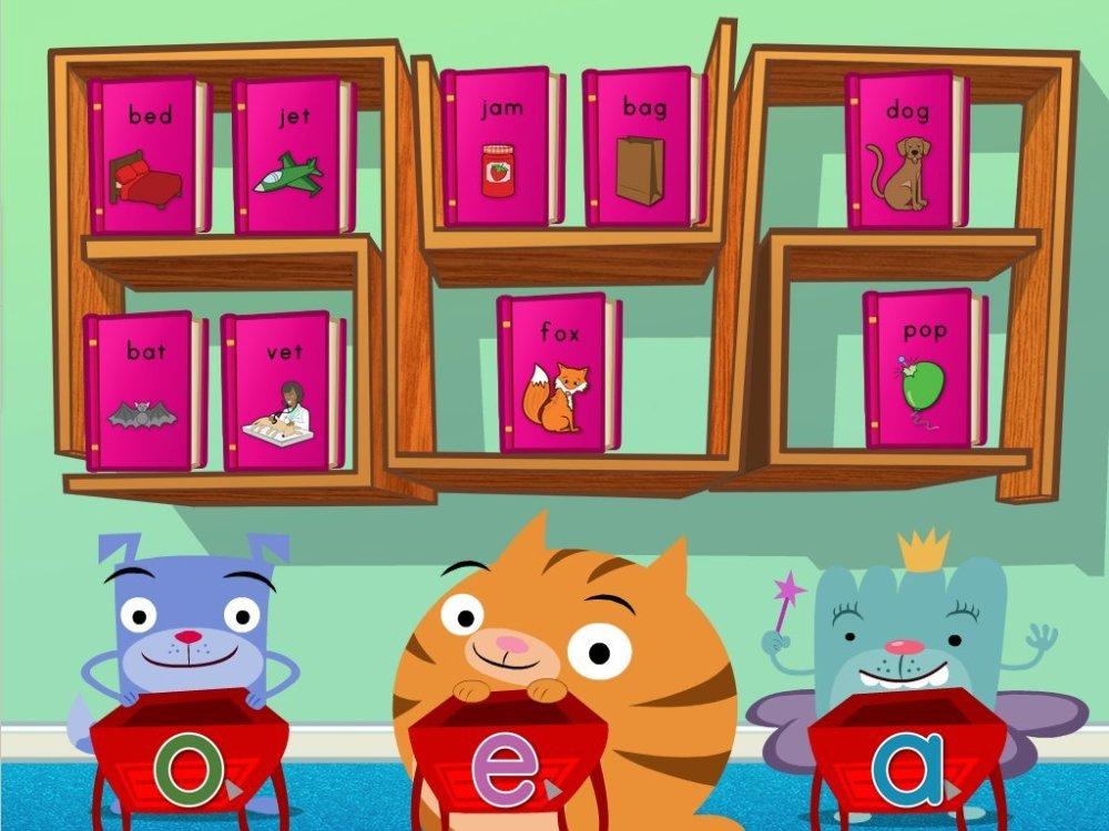 medium resolution of Short Vowel Sort Game   Game   Education.com