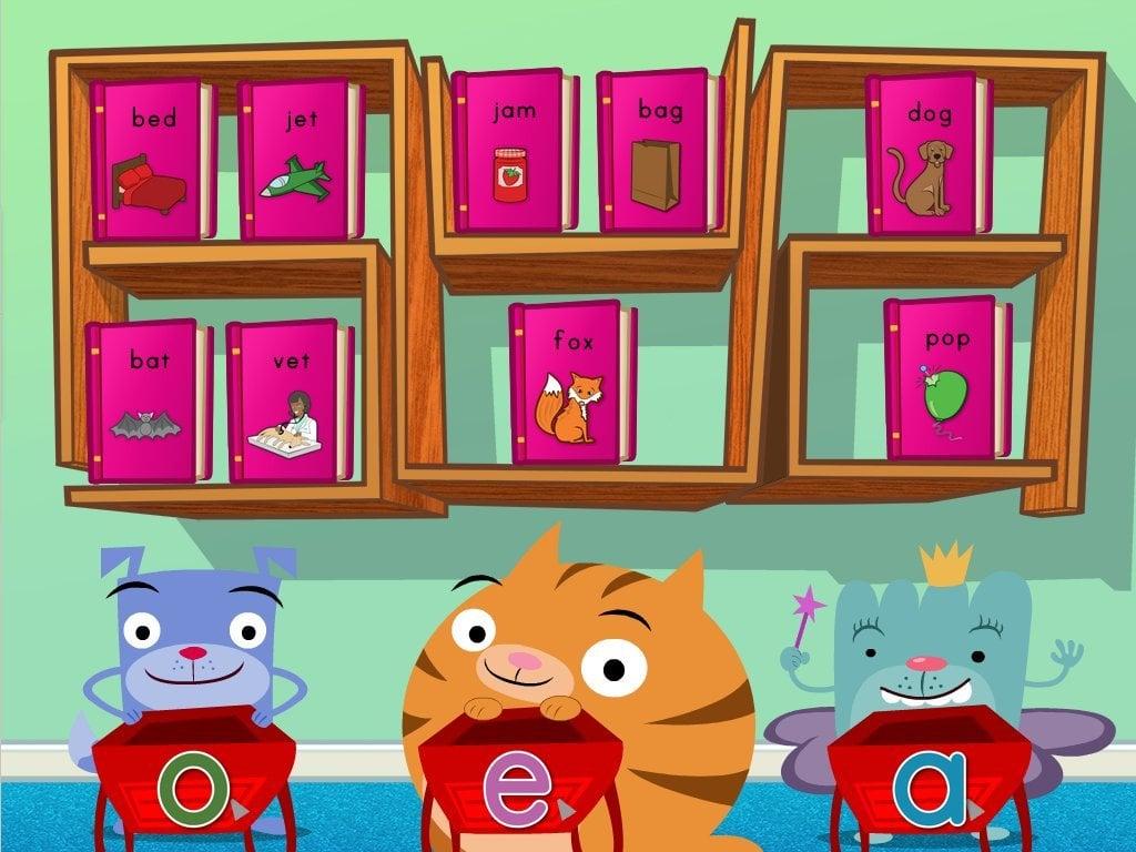 hight resolution of Short Vowel Sort Game   Game   Education.com