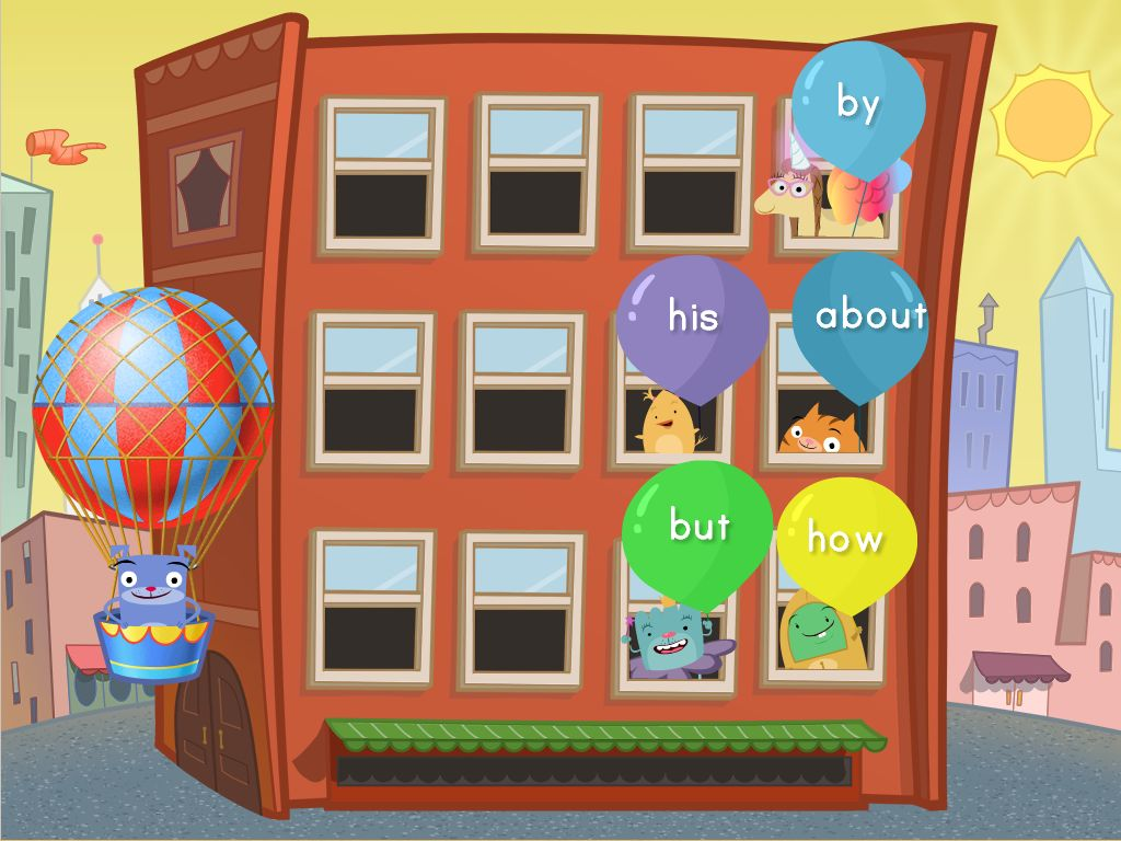 hight resolution of Sight Words Balloon Pop Game   Game   Education.com