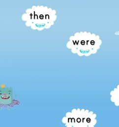 Sight Words Cloud Catcher 2: Game   Game   Education.com [ 768 x 1024 Pixel ]