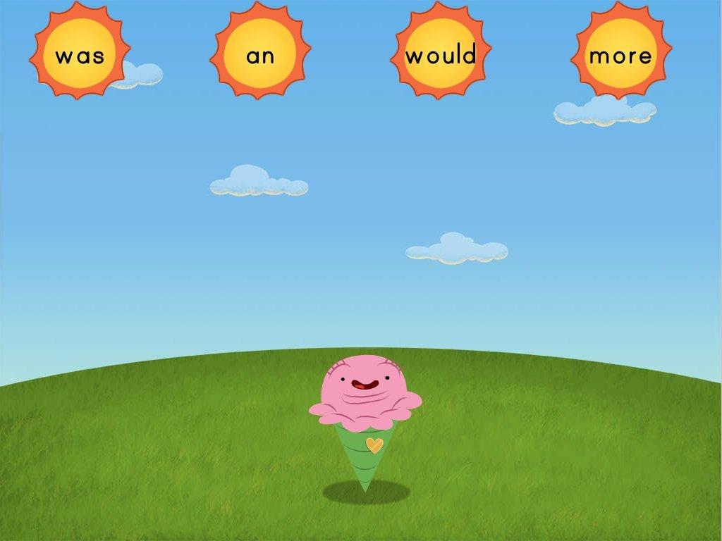 Sight Words Sun 2 Game