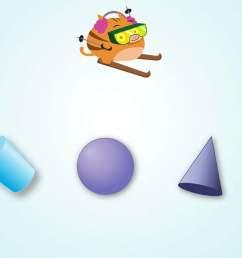 Ski Racer: 3D Shapes   Game   Education.com [ 768 x 1024 Pixel ]