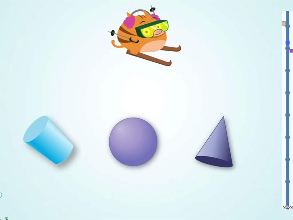 medium resolution of Ski Racer: 3D Shapes   Game   Education.com