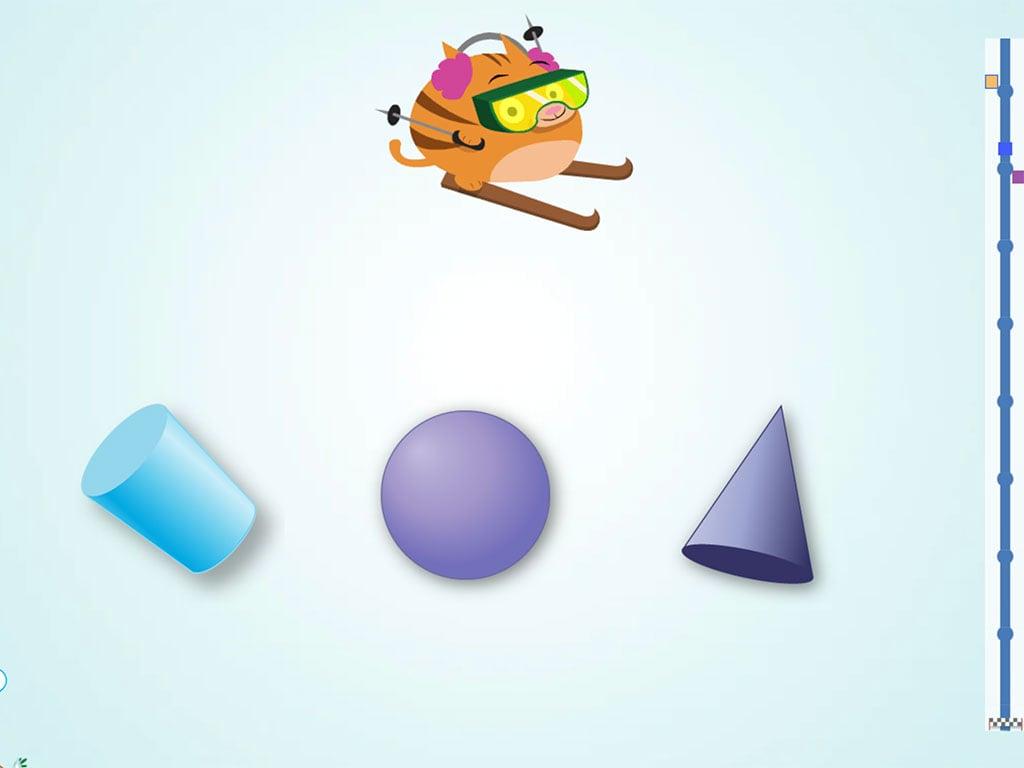 hight resolution of Ski Racer: 3D Shapes   Game   Education.com
