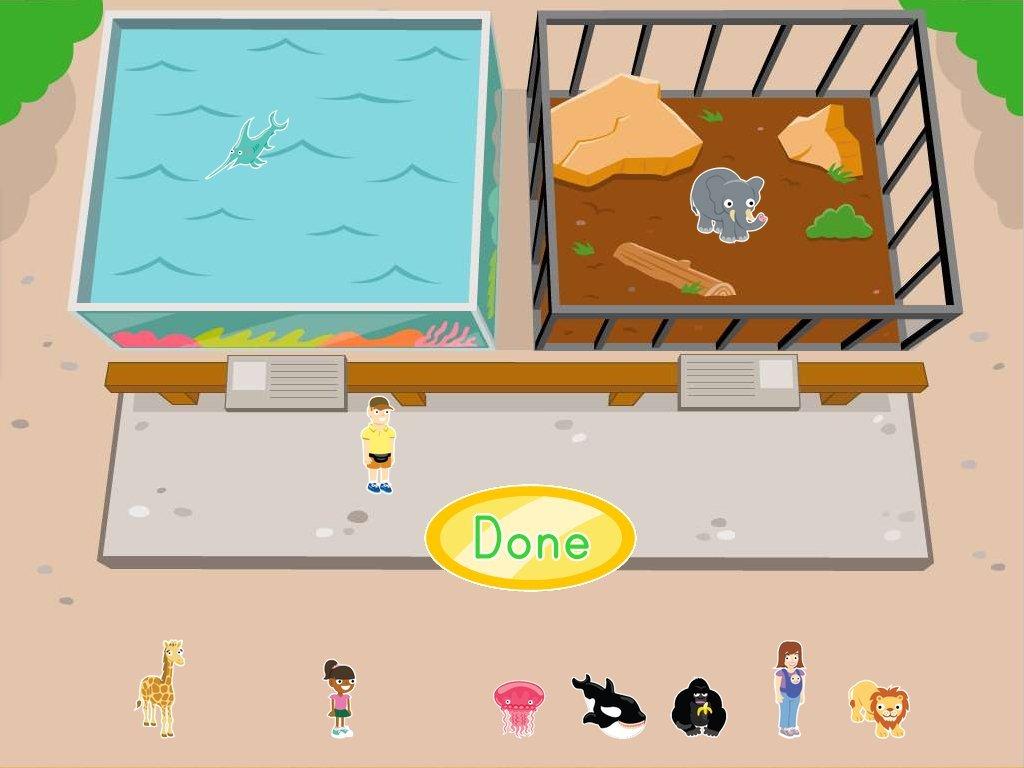 Preschool Zoo Sort Worksheet Preschool Best Free Printable Worksheets