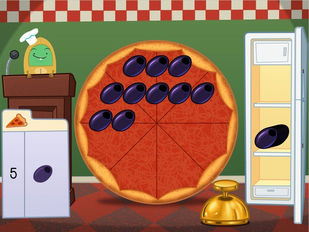 hight resolution of Subtraction Pizza Party Game   Game   Education.com