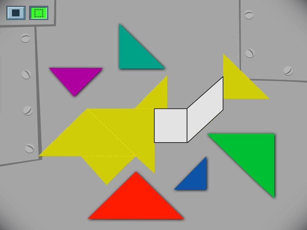 medium resolution of Shark Tangram Challenge Game   Game   Education.com