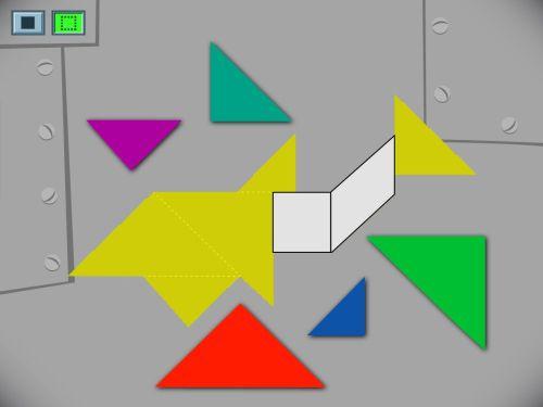small resolution of Shark Tangram Challenge Game   Game   Education.com