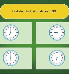 Telling Time with Clocks Game   Game   Education.com [ 768 x 1024 Pixel ]