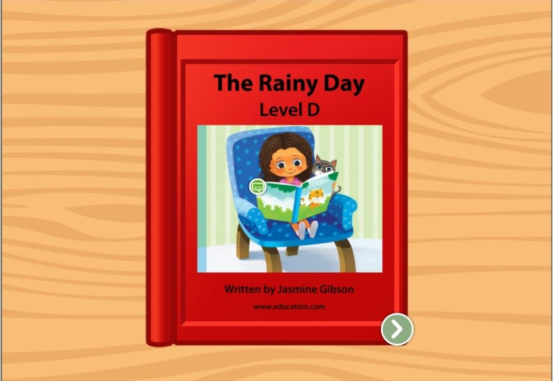 Color Rainy Day Rosie