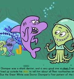 The Shark Dentist - Math Story   Story   Education.com [ 768 x 1024 Pixel ]