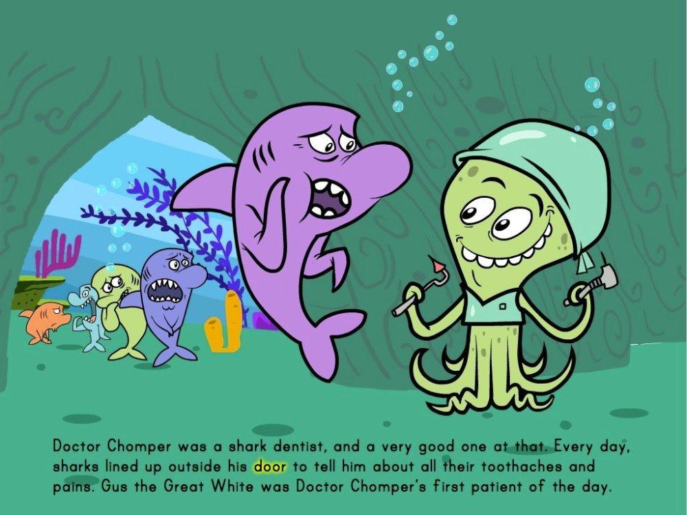 medium resolution of The Shark Dentist - Math Story   Story   Education.com