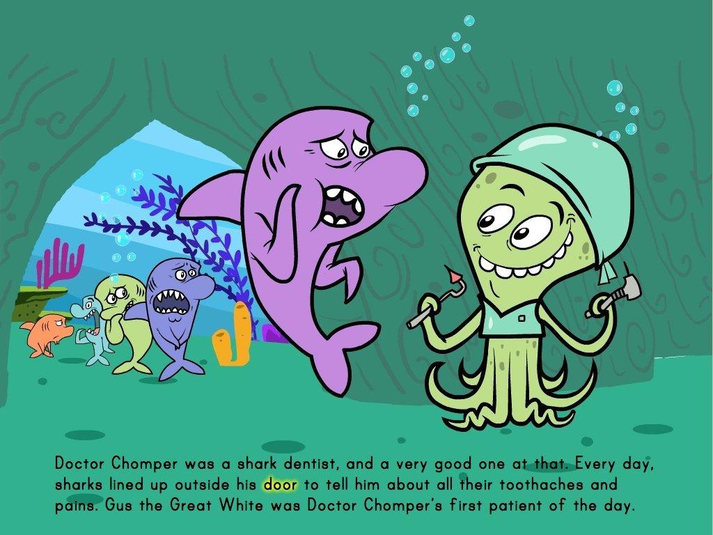 hight resolution of The Shark Dentist - Math Story   Story   Education.com