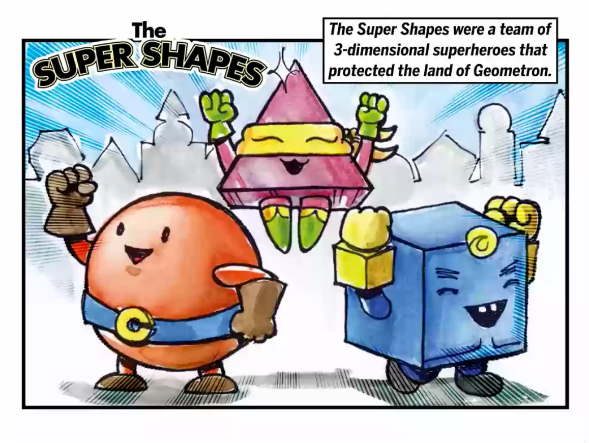 hight resolution of The Super Shapes - Interactive Math Story   Story   Education.com