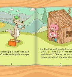 The Three Little Pigs Story   Story   Education.com [ 768 x 1024 Pixel ]